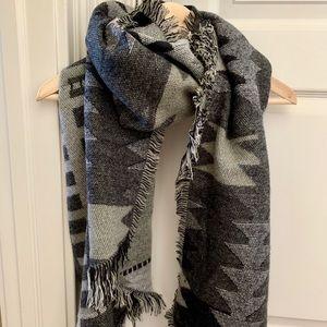 Anthropologie blanket scarf